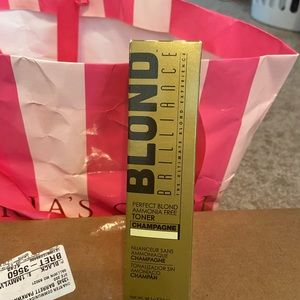 BN never opened blonde brilliance toner for blonde